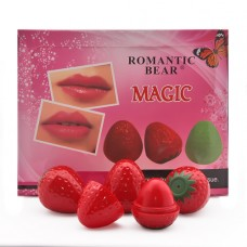 Бальзам для губ Romantic Bear Magic Клубничка (поштучно)