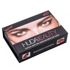 Цветные линзы косметические Huda Beauty sensual beauty lens (True Sapphine)