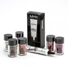 Глиттер + праймер NYX glitter primer and face and body glitter briliants