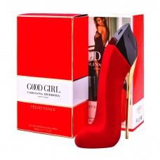 Женская парфюмированная вода Carolina Herrera Good Girl Velvet Fatale в бархате 80 мл