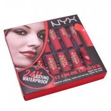 Набор помад для губ NYX matte lipstick 12 шт