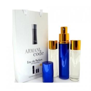 Парфюмированная вода с феромонами Giorgio Armani Armani Code Women  3х15 мл.