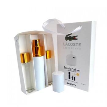 Туалетная вода с феромонами Lacoste L.12.12 Blanc 3х15 мл.