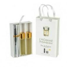 Туалетная вода с феромонами Yves Saint Laurent L`Homme 3х15 мл.