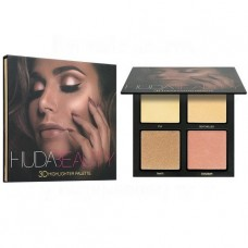 Хайлайтер Huda Beauty highlighter palette 4 цвета (палитра В)