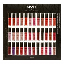 Набор помад NYX Soft Matte Lip Cream Vault 36 in 1