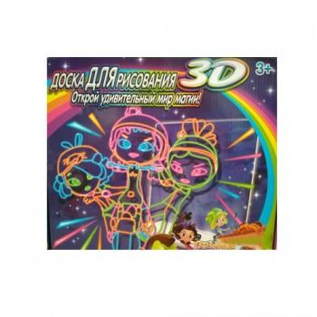 Доска для рисования 3D Открой удивительный мир магии Magic Drawing Board (Сказочный патруль)