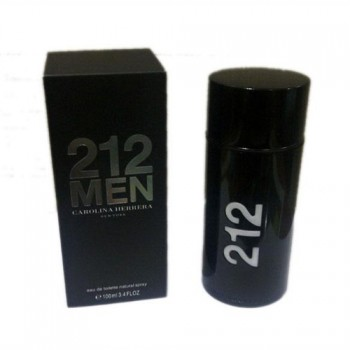 Туалетная вода для мужчин Carolina Herrera 212 Men Black 100ml
