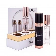 Подарочный набор Christian Dior Jadore black  3 *20 мл
