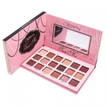 Тени Beauty Creations Tease Me Eyeshadow Palette  (18 цветов)