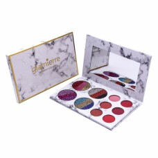 Палитра теней Glamierre Rainbow Your Eyes Glitter and Matte 18 цветов