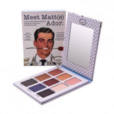 Набор теней The Balm Meet Matt(e) Ador (9 цветов)