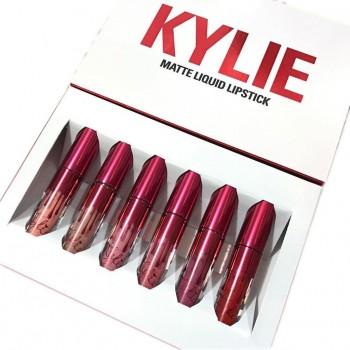 Набор жидких матовых помад Kylie Valentine Collection (6 шт)