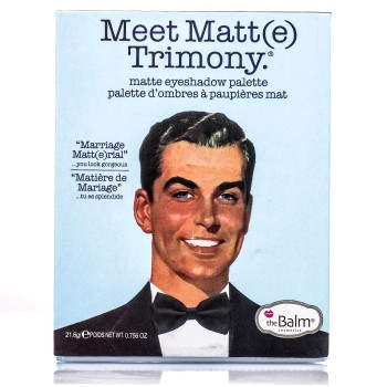 Набор теней The Balm Meet Matt(e) Trimony (9 цветов)