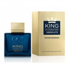 Antonio Banderas King of Seduction Absolute ( Антонио Бандерас Кинг оф Седакшн Абсолют) Мужская туалетная вода